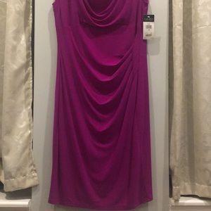 Beautiful Magenta Dress from Ralph Lauren.